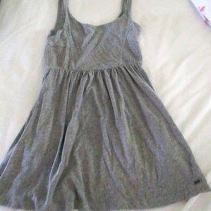 ROXY Grey cotton sundress. Like new condition